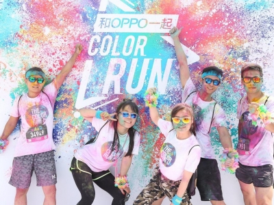 OPPO color run